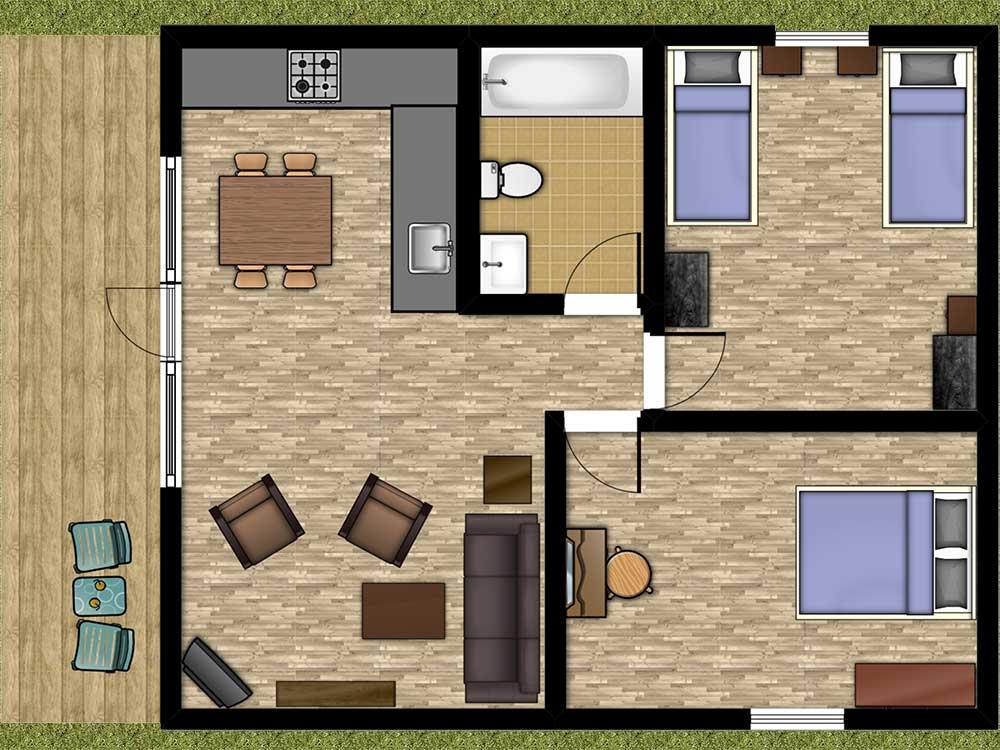 Beech Lodge Floor Plan