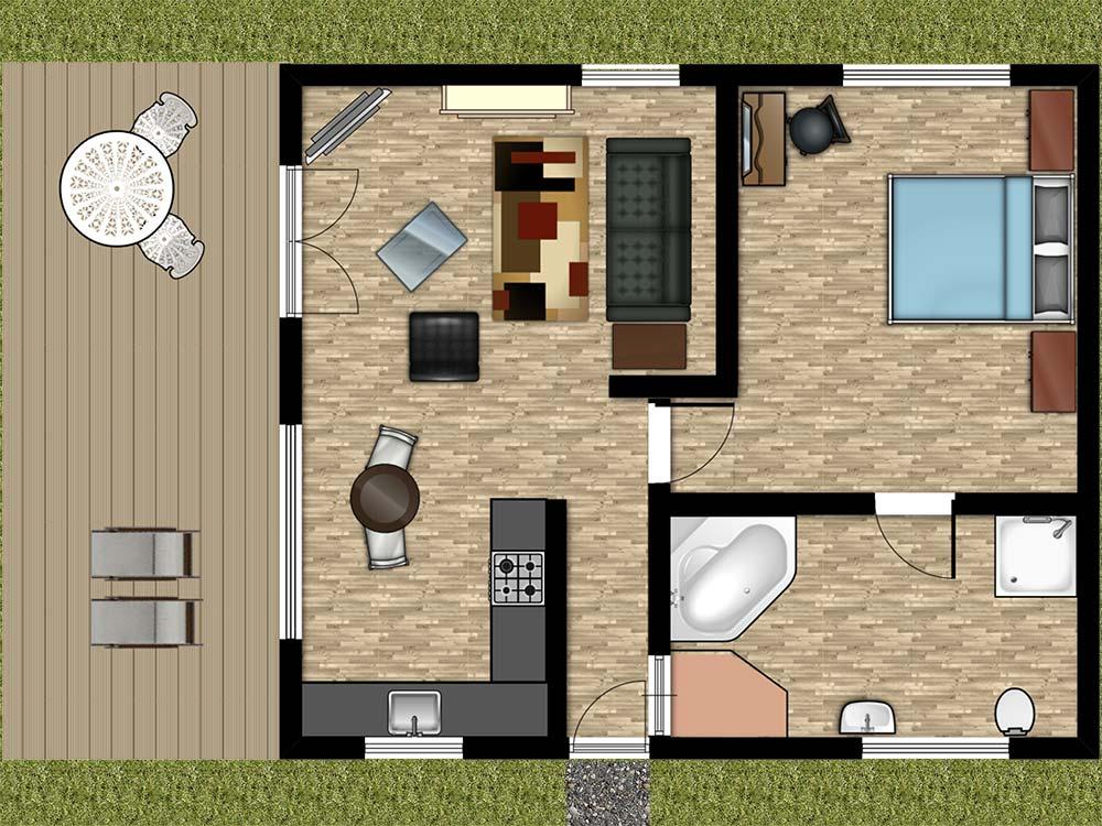 Holly Lodge Floorplan