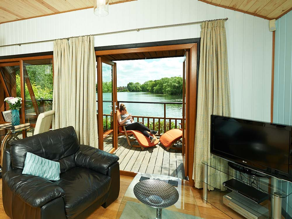 Holly Lodge View of Lake from Lounge