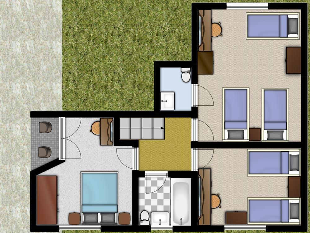 Cherry Cottage 1st Floorplan