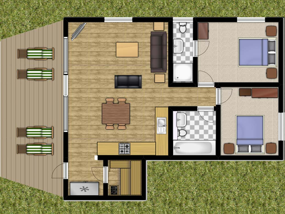 Maple Lodge York Lakeside Lodges Floorplan