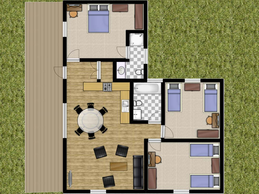 Rowan Lodge Floorplan