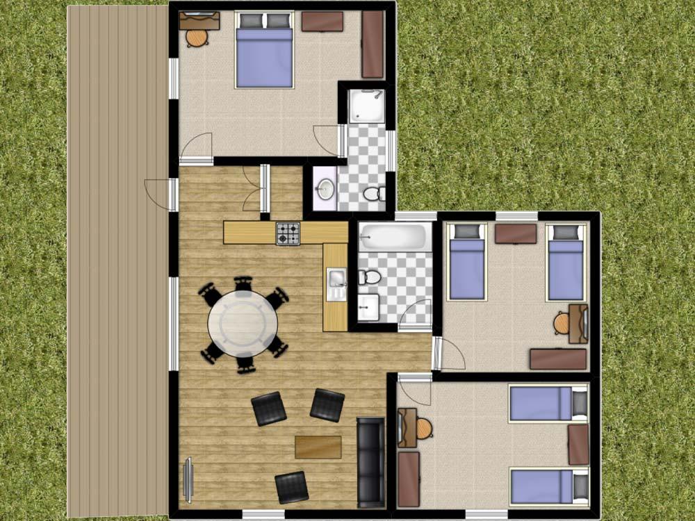 Rowan Lodge Floorplan