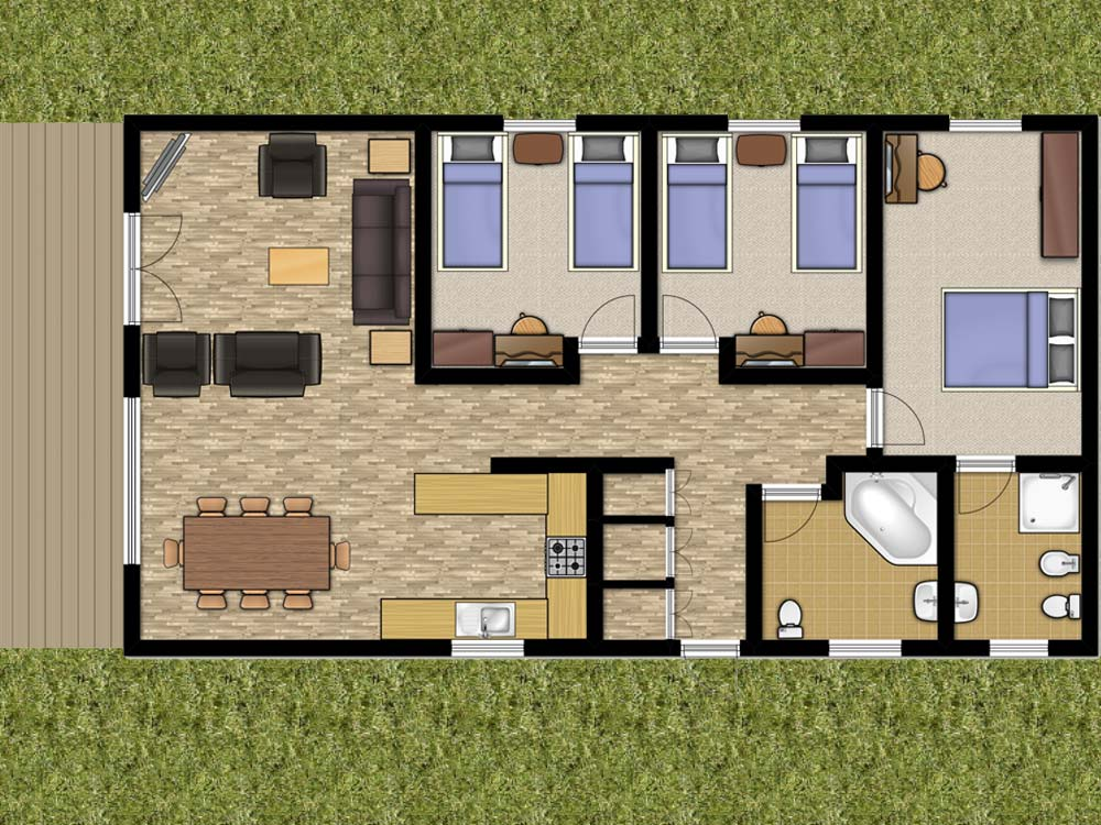 Willow Lodge Floorplan