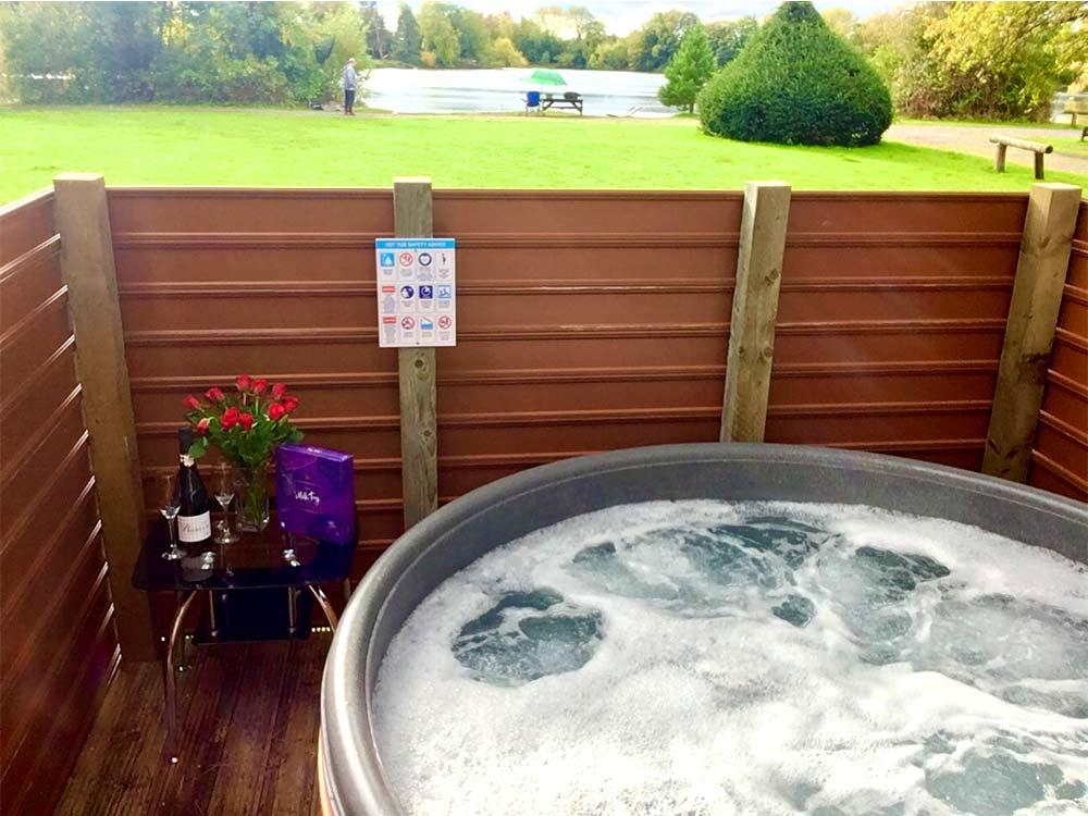 York Hot Tub Lodges